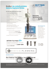 Icon Flyer Medical Planning